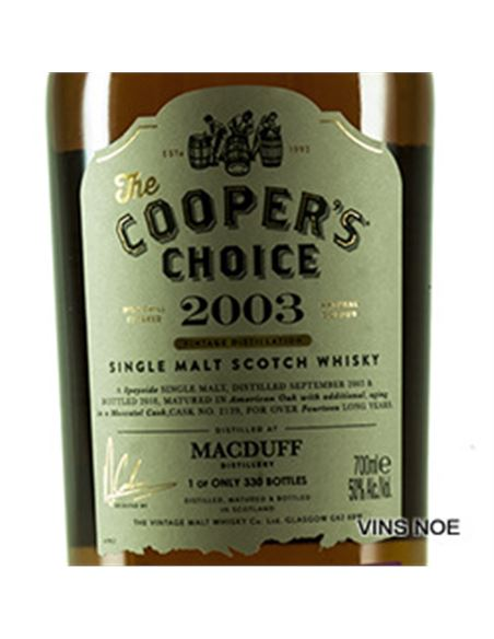 Macduff Moscatel Finish The Coopers Choice 2003 - Macduff_Moscatel_Finish_The_Coopers_Choice-E