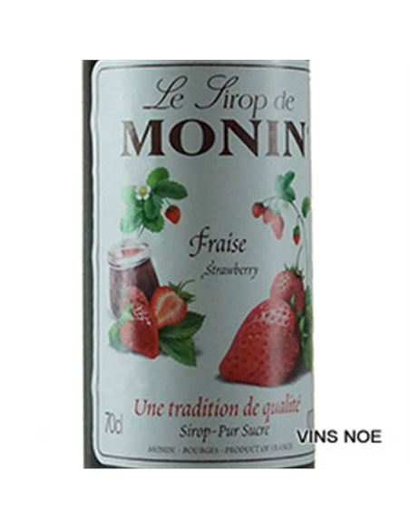 Monin sirop stawberry - MONIN_SIROPE_FRESA-E