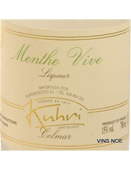 Kuhri liqueur de menthe - KUHRI MENTA-E