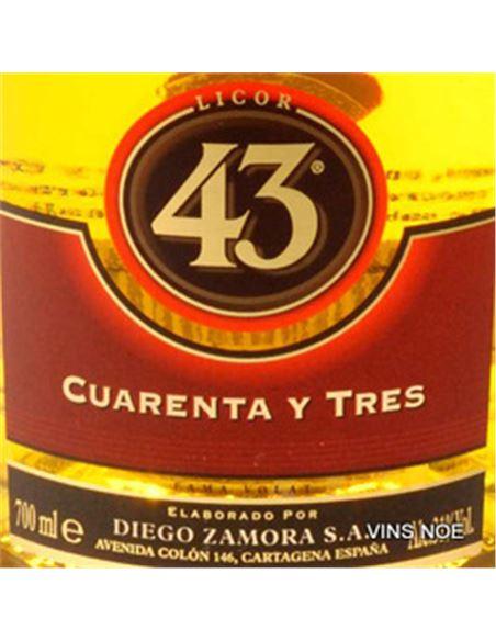 Licor 43 - LICOR 43-E