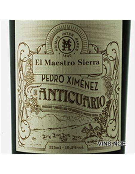 Maestro sierra palo cortado anticuario (37,5 cl) - Maestro_Sierra_Pedro_Ximenez._Anticuario_(37,5)-E