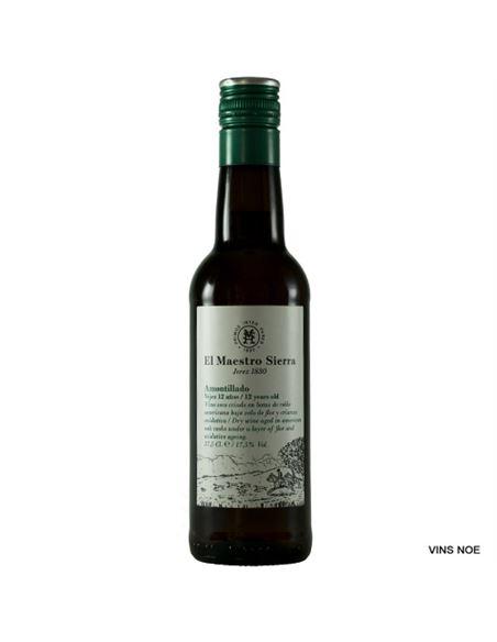 Amontillado sup. 12 a. maestro sierra (37,5 cl.) - Maestro_Sierra_Amontillado_Superior_12_a_(37,5cl)