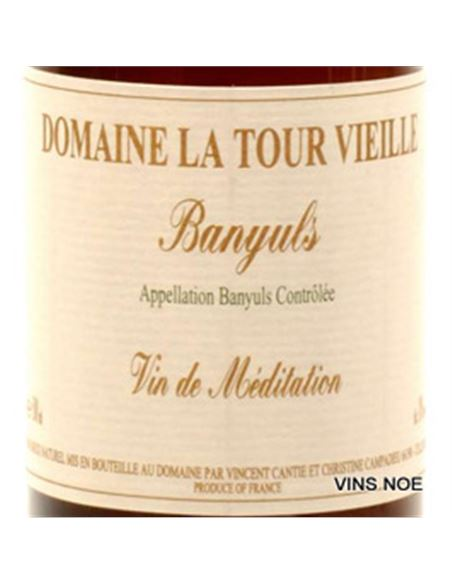Dom. Tour Vieille Vi de Meditacio (Banyuls Solera) - DOM. TOUR VIEILLE VI DE MEDITACIO (BANYULS SOLERA) (0,50)-E