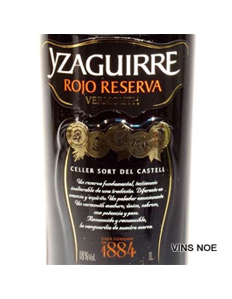 Yzaguirre rojo reserva (100 cl.) - YZAGUIRRE ROJO RESERVA-E