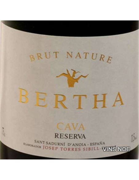 Bertha reserva brut nature - BERTHA. RESERVA BRUT NATURE-E