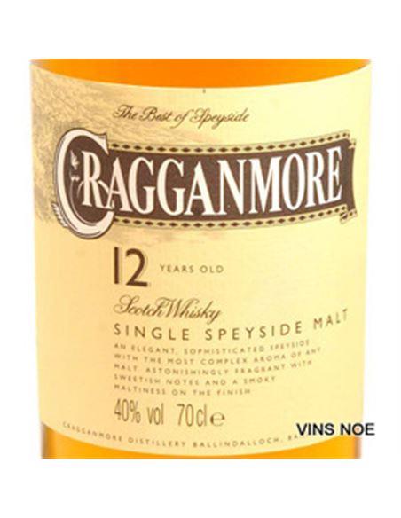 Cragganmore 12 years old - CRAGGANMORE 12 YEARS OLD-E