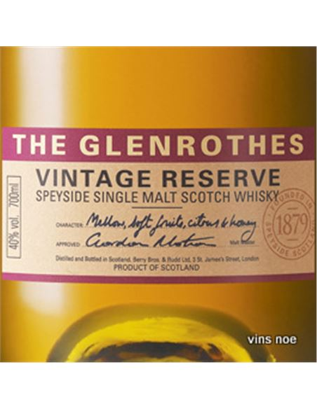 Glenrothes 10 years - THE_GLENROTHES_VINTAGE_RESERVE-E