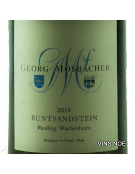 Buntsandstein wachenheim riesling mosbacher - Buntsandstein_Wachenheim_Riesling-E
