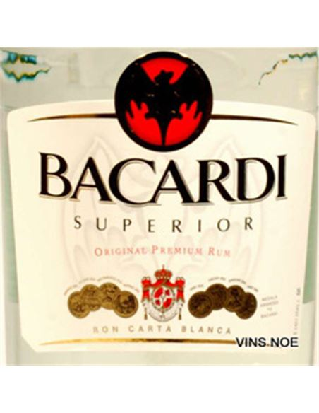 Bacardi (100 cl) - BACARDI 1 LITRO-E