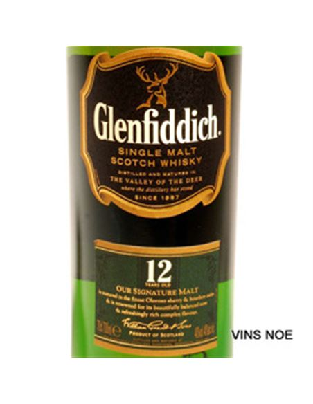 Glenfiddich 12 Years Old - GLENFIDDICH 12 YEARS OLD-E