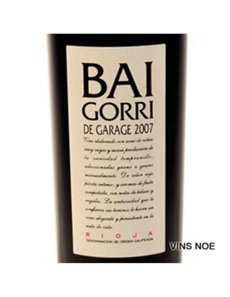 Baigorri Vino de Garage 2013 - BAIGORRI VINO DE GARAGE-E