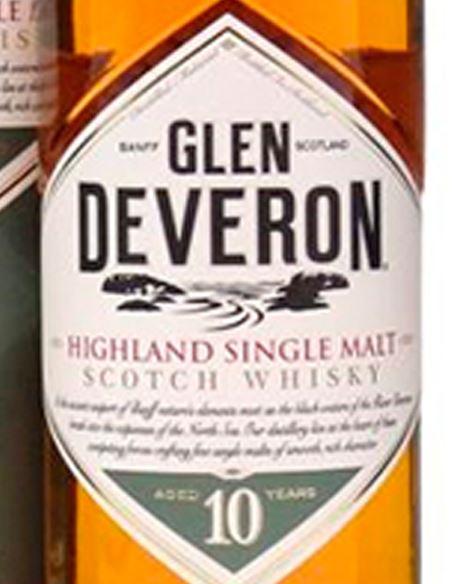 Glen Deveron 10 years - GlenDeveron_VinsNoe_etiqueta