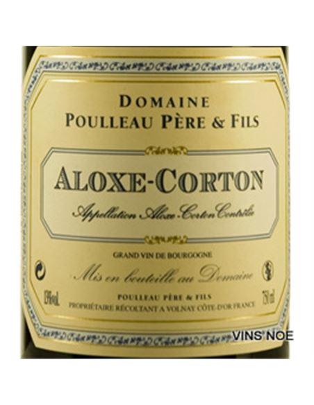 Poulleau. Aloxe-Corton 2018 - DOM_POULLEAU _ALOXE-CORTON-E