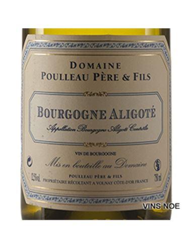 Poulleau. bourgogne aligoté - Dom Poulleau Bourgogne Aligoté-E