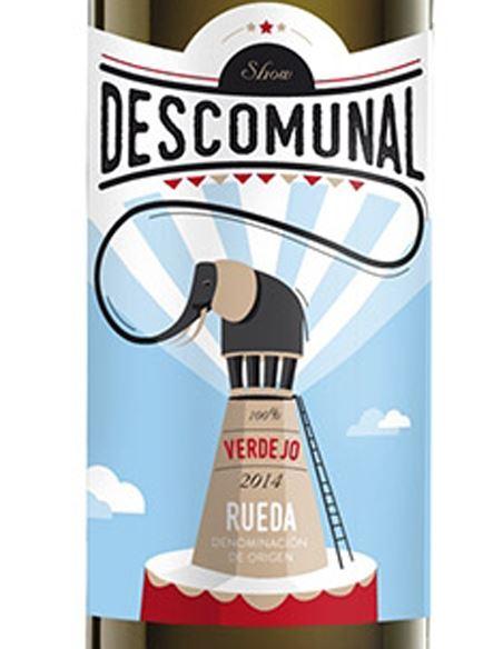 Descomunal - Descomunal_VinsNoe_etiqueta
