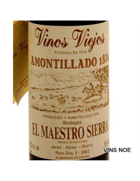 Amontillado 1830 vors (37,5 cl) maestro sierra - MAESTRO SIERRA AMONTILLADO 1830 VORS  (37,5)-E